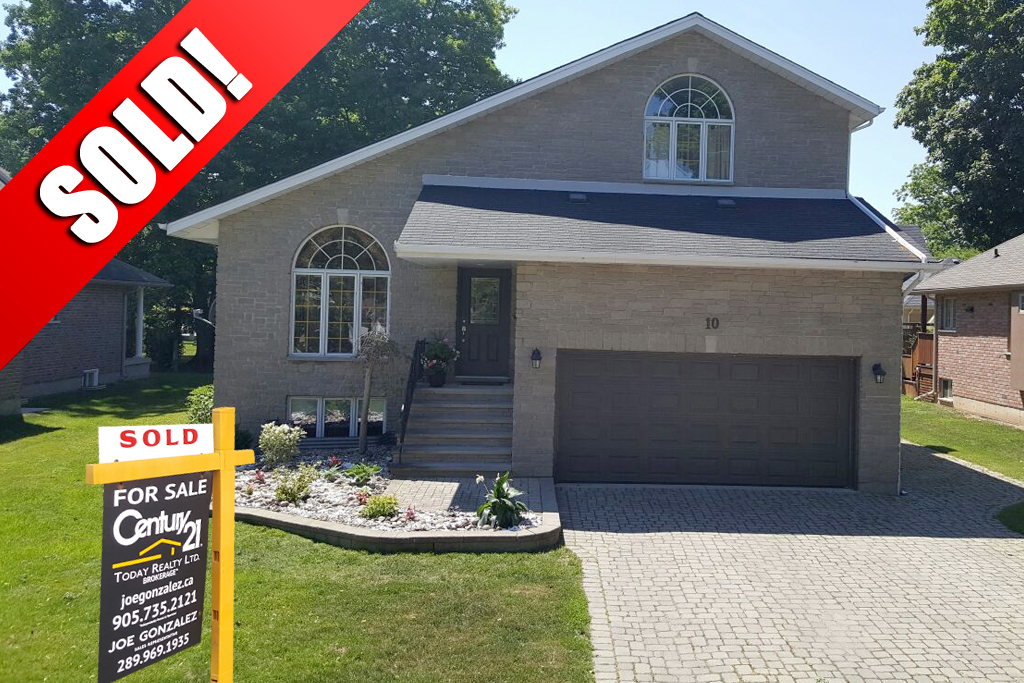 SOLD: 10 Westwood Port Colborne