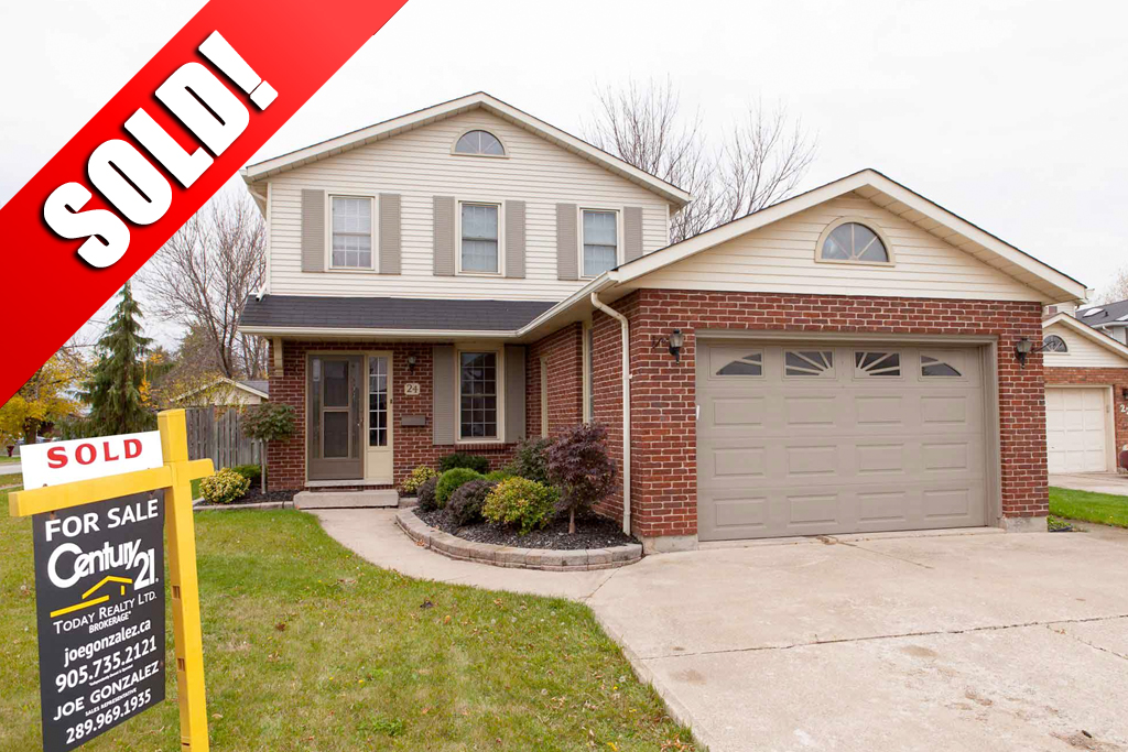 Sold: 24 Squires Gate St. Catharines