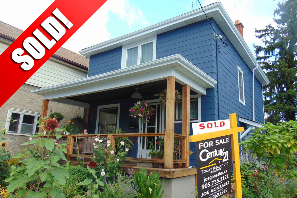 SOLD: 53 Louisa Street St. Catharines