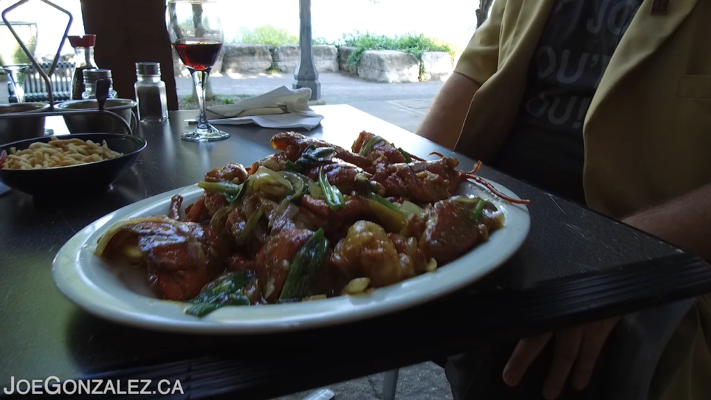 Happy Jack's Restaurant Fort Erie Ontario Lobster Ginger Style