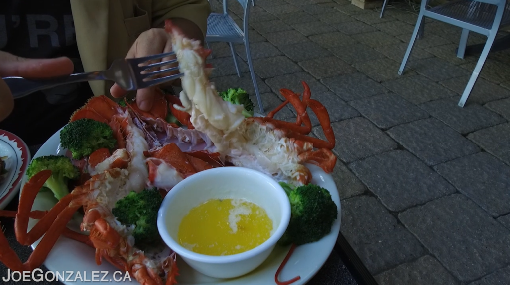Happy Jack's Restaurant Fort Erie Ontario Lobster Steamed with Butter